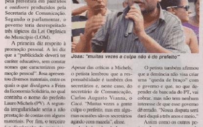 Matéria Jornal Diário Regional de 03/05/13