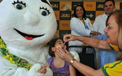 Campanha Nacional de Vacinação – Começa sábado 24/08/13