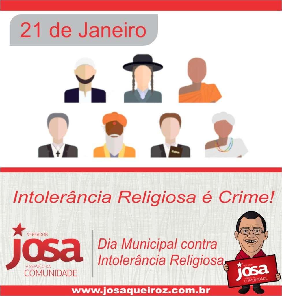intolerancia religiosa JOSA 2015