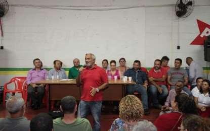 Vereador Josa Queiroz prestigia plenária de apoio à pré-candidatura de Maninho