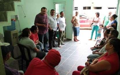Moradores cobram melhorias no núcleo Beira-Rio (Morro do Samba)
