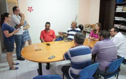 Disputa das prévias é debatida em reunião no diretório