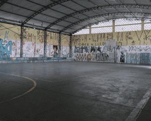 #Narua | Após reunião com a população e vereadores, secretaria de esportes da os primeiros passos na quadra Perseu Abramo no Vila Alice