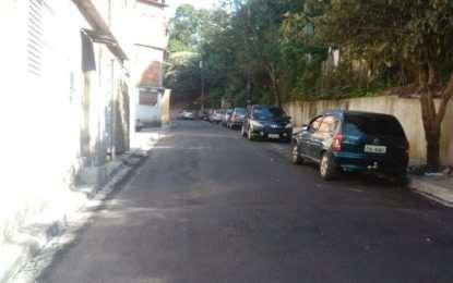 #Narua | Recapeamento da Rua João Pereira Gomes no Campanário