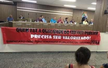 Sindicato e Prefeitura de Diadema discutem mudanças no estatuto